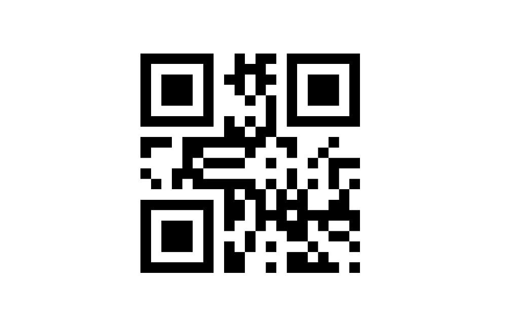 Noch einfacher geht's per QR-Code – einfach scannen und Nummer abspeichern:
